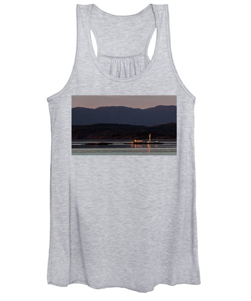 Isolated Lighthouse Women's Tank Top
