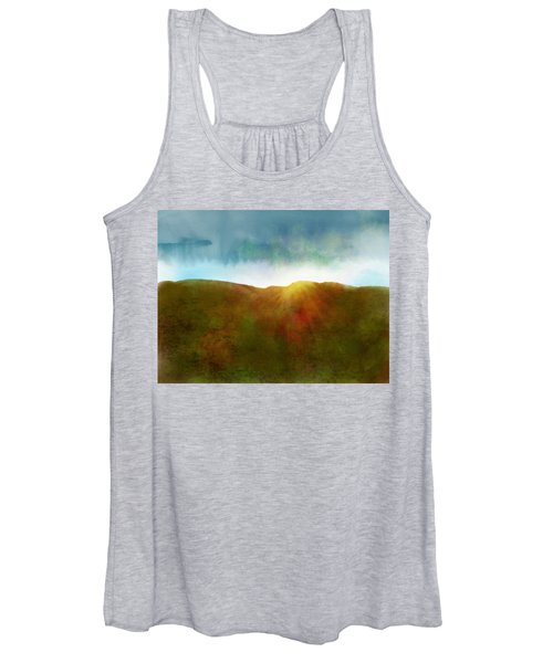 Women's Tank Top featuring the digital art It Began To Dawn by Antonio Romero