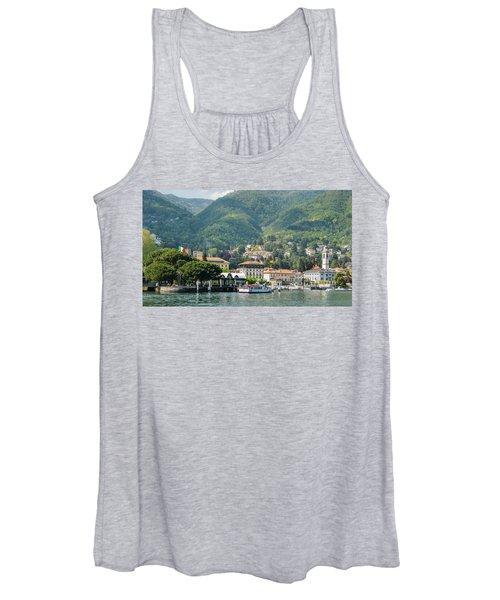 Italian Village On Lake Como Women's Tank Top
