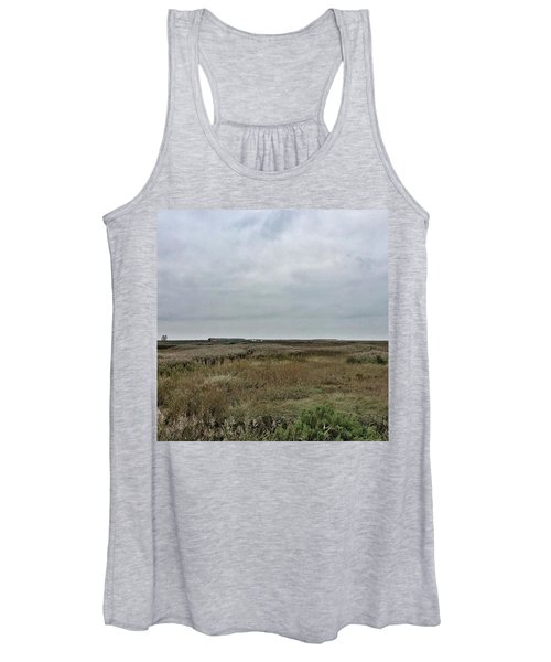 It's A Grey Day In North Norfolk Today Women's Tank Top