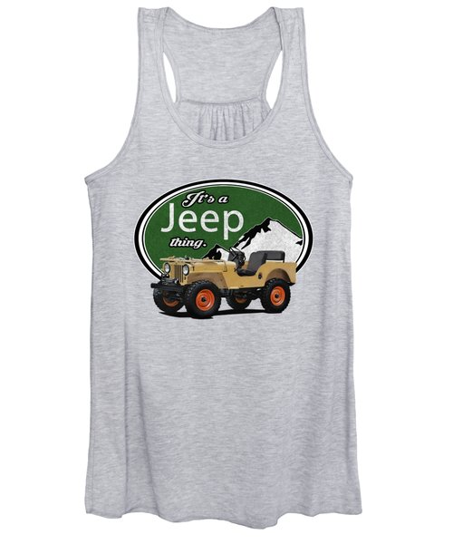 It's A Jeep Thing Women's Tank Top