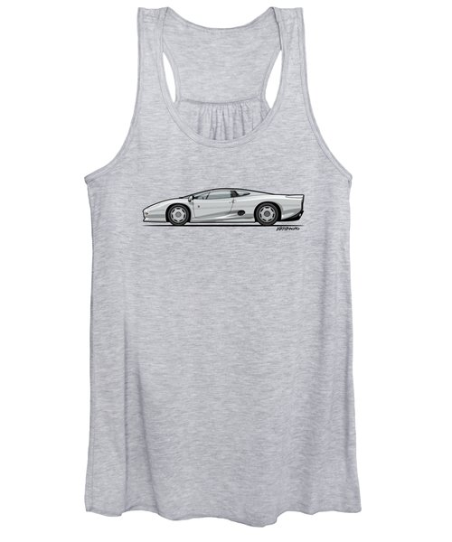Jag Xj220 Spa Silver Women's Tank Top