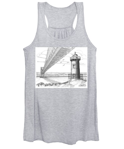 Jeffrey's Hook Lighthouse Women's Tank Top