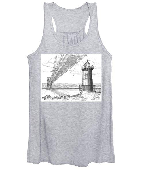 Jeffrey's Hook Lighthouse Women's Tank Top
