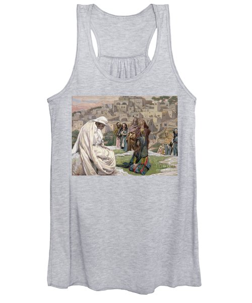 Jesus Wept Women's Tank Top