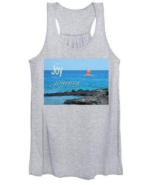 Joy In The Journey Women's Tank Top