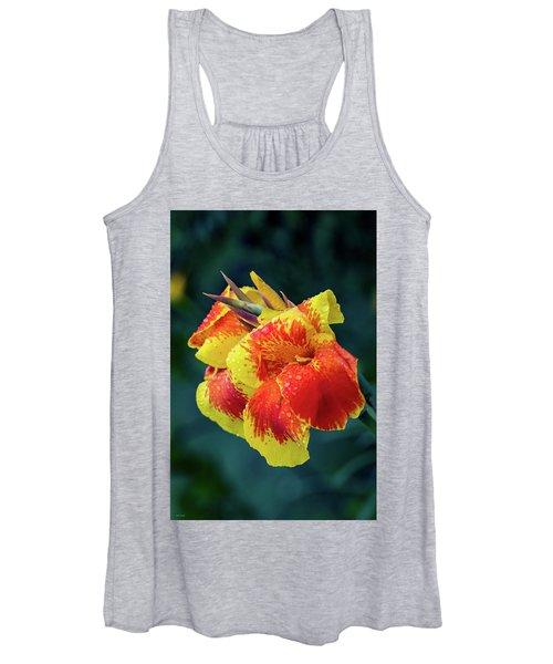 Jungle Flowers Women's Tank Top