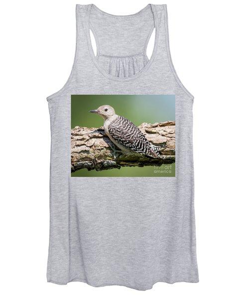 Juvenile Red-bellied Woodpecker Women's Tank Top