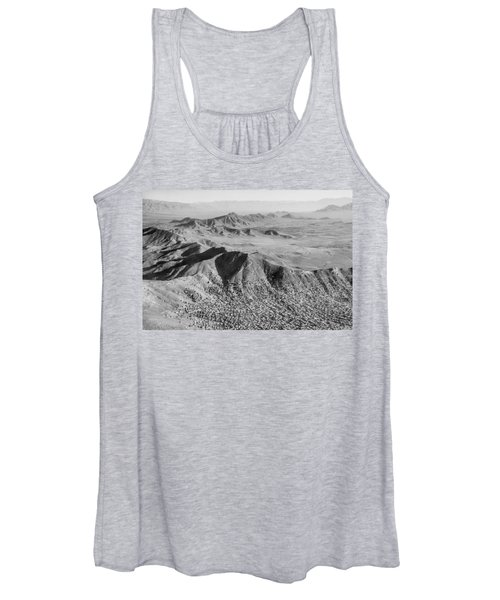 Kabul Mountainous Urban Sprawl Women's Tank Top