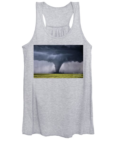 Kansas Tornado Women's Tank Top