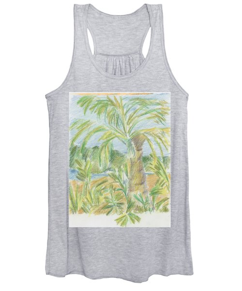 Kauai Palms Women's Tank Top