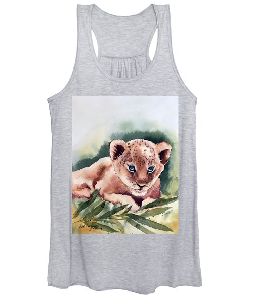 Kijani The Lion Cub Women's Tank Top