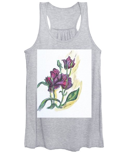 Kimberly's Spring Flower Women's Tank Top