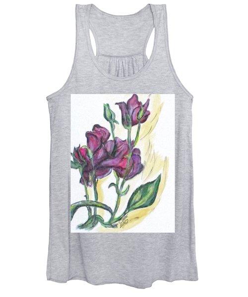 Kimberly's Spring Flower Women's Tank Top
