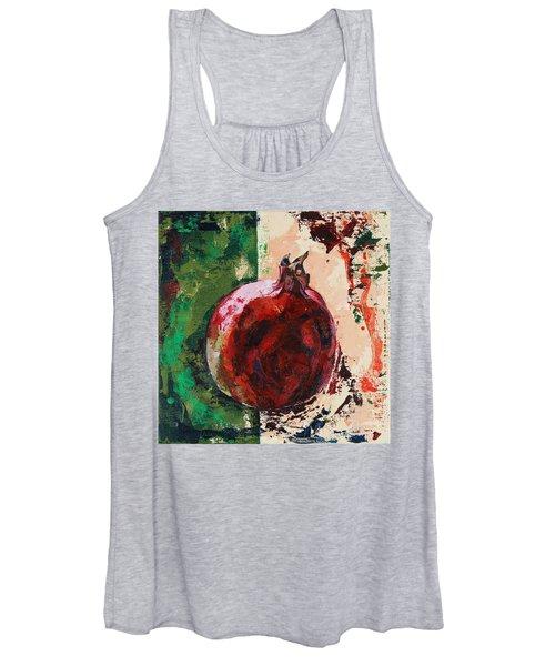 Pomegranate Women's Tank Top