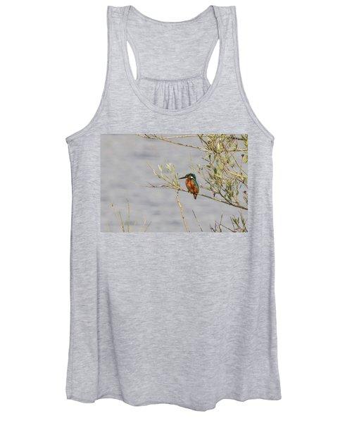 Kingfisher Waiting Women's Tank Top