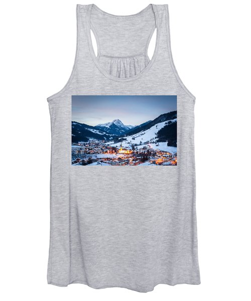Kirchberg Austria In The Evening Women's Tank Top
