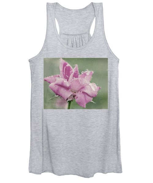 Kissed By The Rain Women's Tank Top