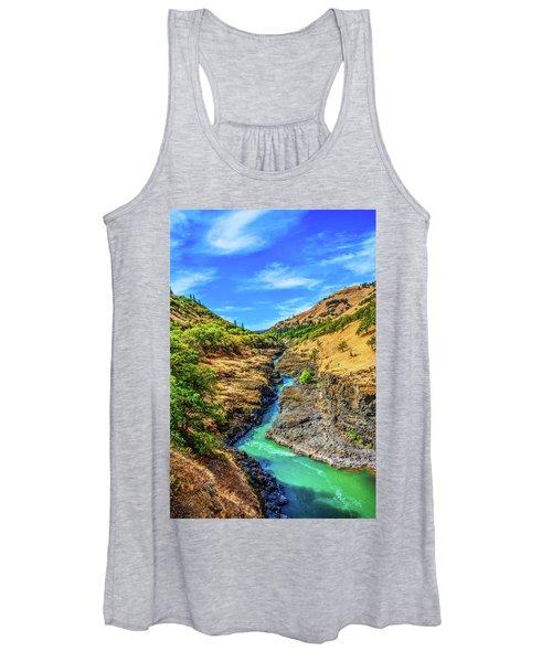 Klickitat River Canyon Women's Tank Top