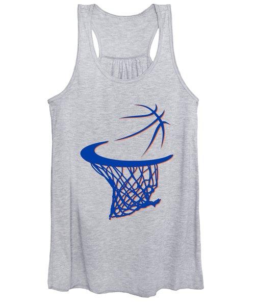 Knicks Basketball Hoop Women's Tank Top