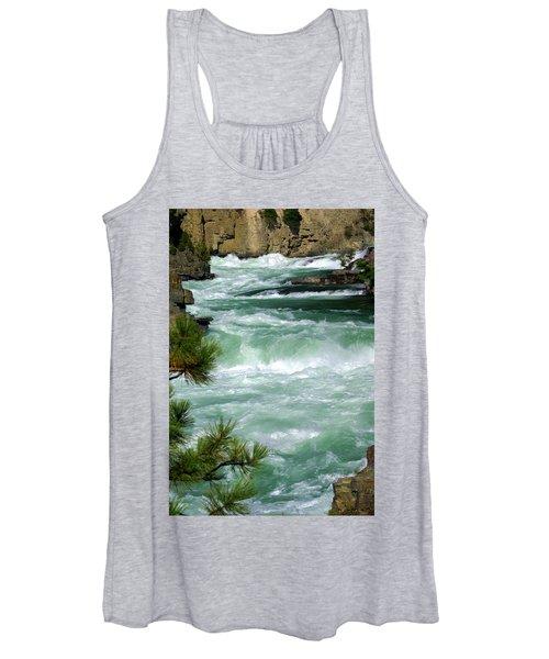 Kootenai River Women's Tank Top