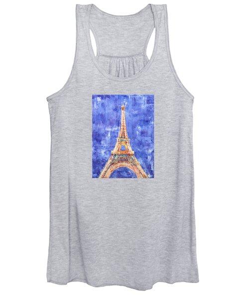 La Tour Eiffel Women's Tank Top