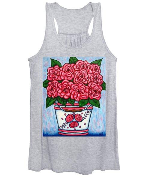 La Vie En Rose Women's Tank Top