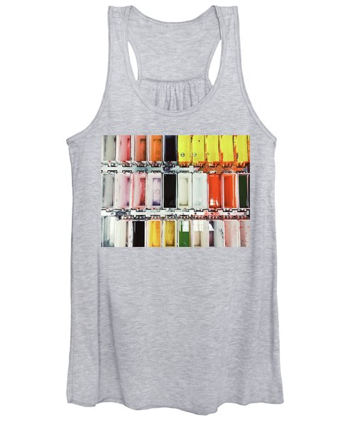 Laboratory Tissue Stains Women's Tank Top