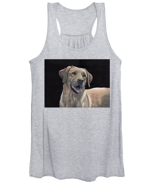 Labrador Portrait Women's Tank Top