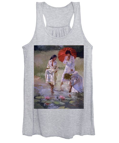 Ladies And Lilies Women's Tank Top
