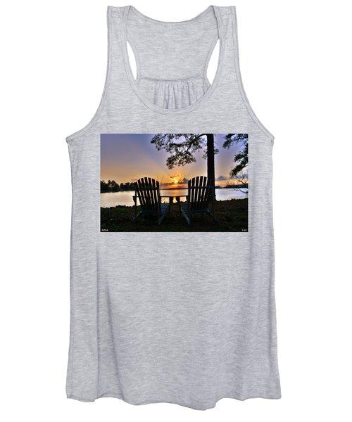 Lake Murray Relaxation Women's Tank Top