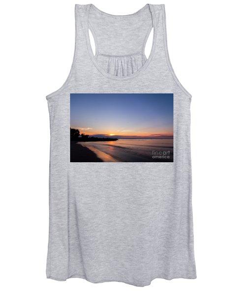 Lake Ontario Beach Sunset Women's Tank Top