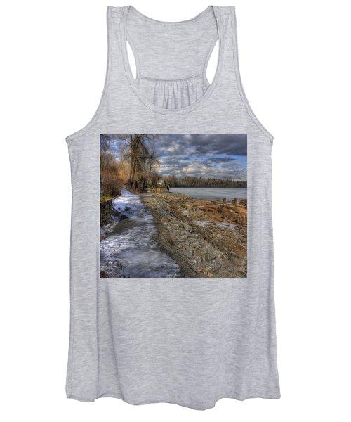 Lake Pend D'oreille At Humbird Ruins Women's Tank Top
