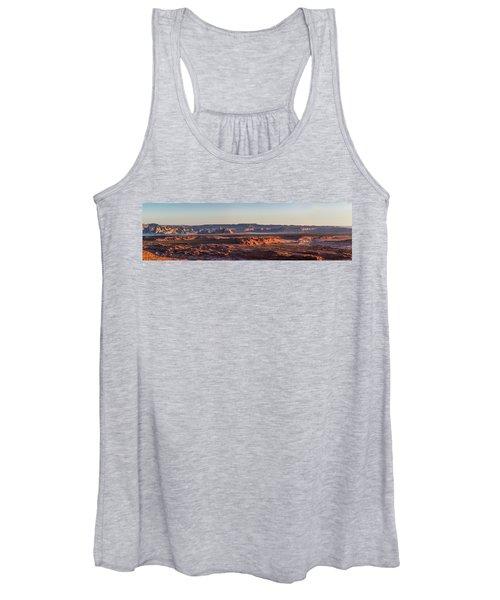 Lake Powell Sunrise Panorma Women's Tank Top