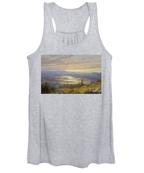 Lake Squam From Red Hill, 1874 Women's Tank Top