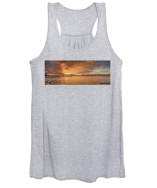 Lake Sunset Women's Tank Top