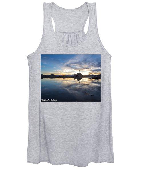 Lake Tahoe Sunset Women's Tank Top