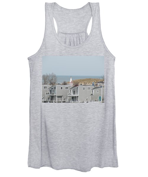 Lakeside Lighthouse  Women's Tank Top