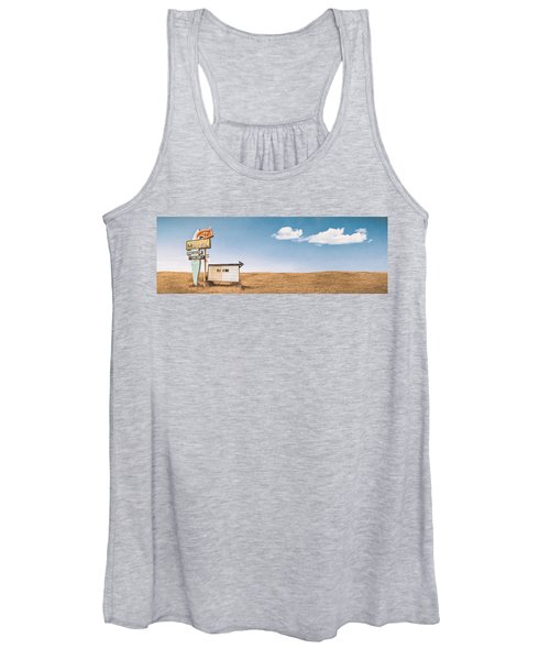 Lamp-lite Motel Women's Tank Top