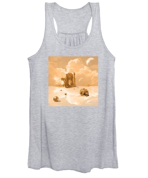 Landscape With Shell Women's Tank Top