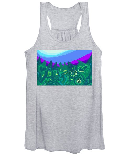 Language Of Forest Women's Tank Top