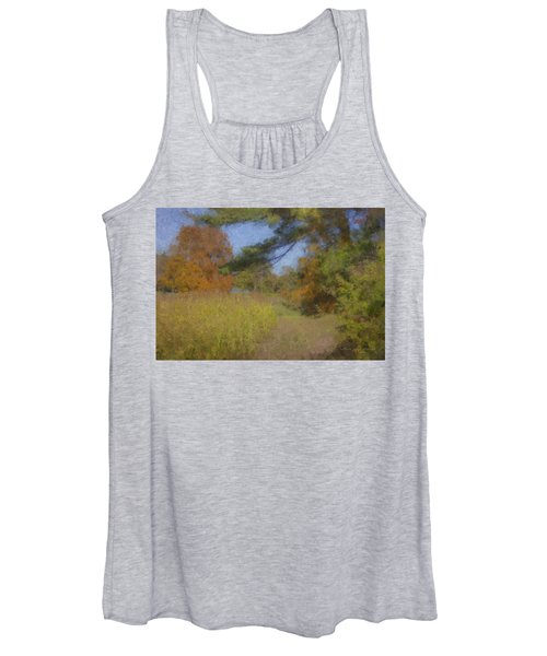 Langwater Farm Tractor Path Women's Tank Top