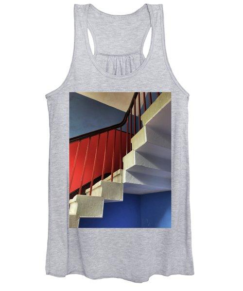 Lanhydrock Stairs Women's Tank Top