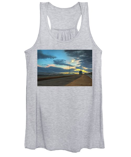 Last Light And Color Over Walnut Women's Tank Top