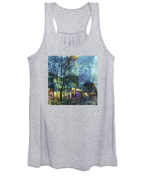 Late Afternoon In Autumn Women's Tank Top
