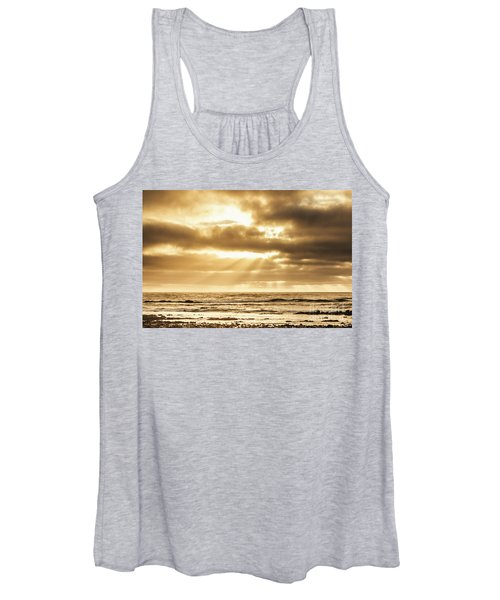 Late Day Rays Women's Tank Top