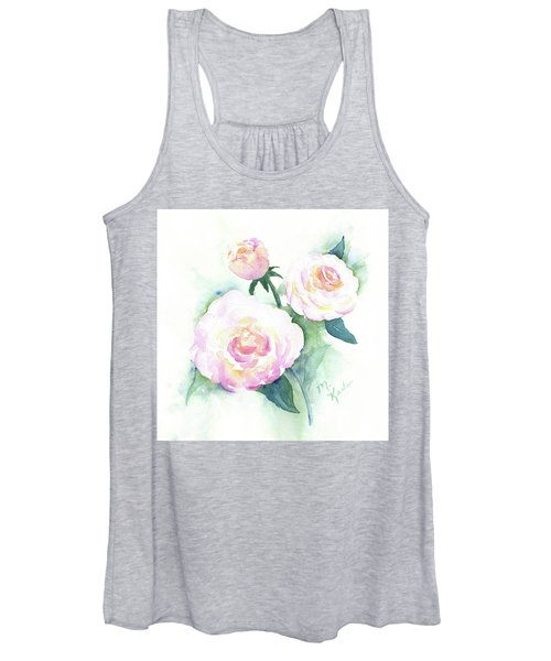 Late Summer Roses Women's Tank Top