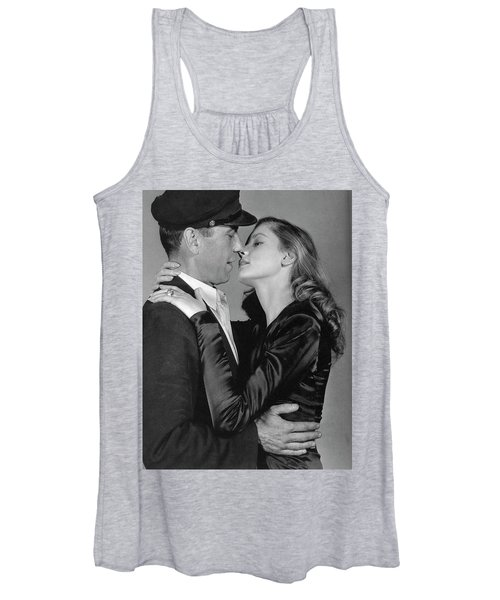 Lauren Bacall Humphrey Bogart To Have And Have Not 1944 Women's Tank Top