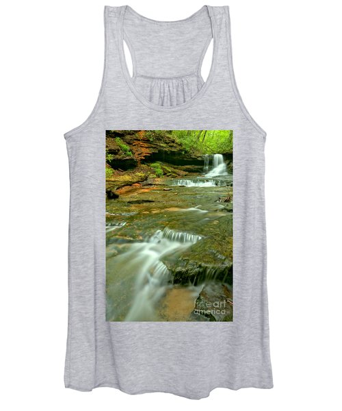 Laurl Highlands Waterfall Gorge Women's Tank Top