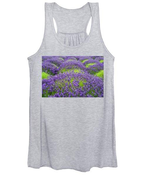 Lavender In Blooming Women's Tank Top